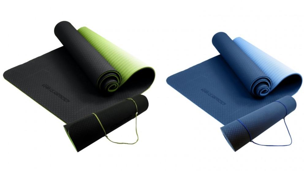 PowerTrain 8mm Yoga Exercise Pilates Mat
