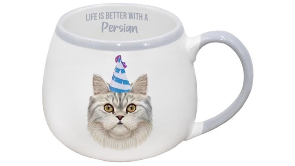 Splosh Painted Pet Persian Mug