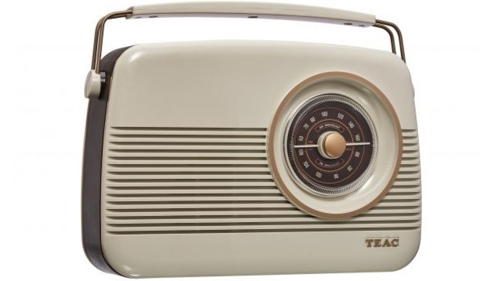 Teac Retro DAB+/AM/FM Portable Digital Radio
