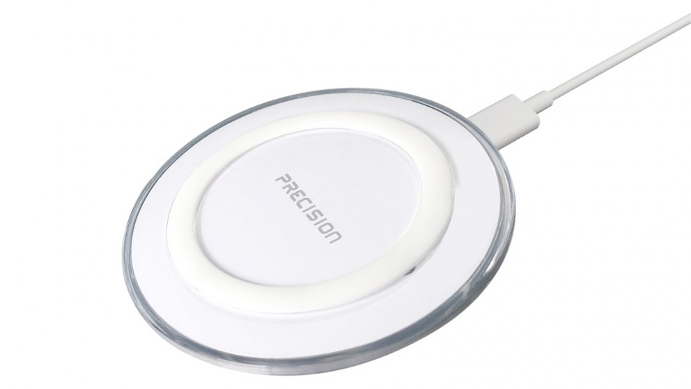 Precision 10W Qi Wireless Charger - White
