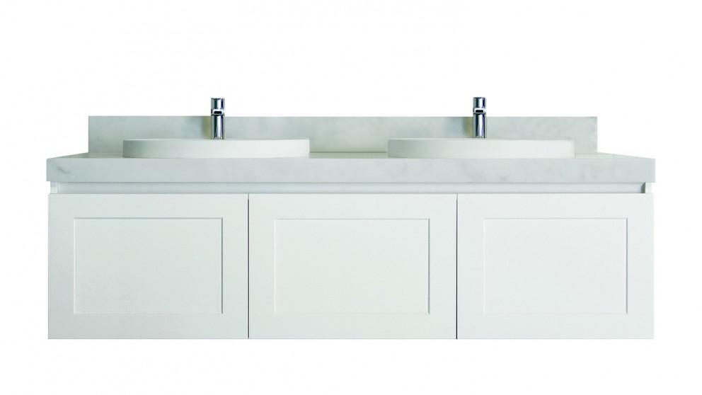 Vanity Bathroom Harvey Norman adp hampton 1500mm wall hung double vanity - cherry pie - bathroom