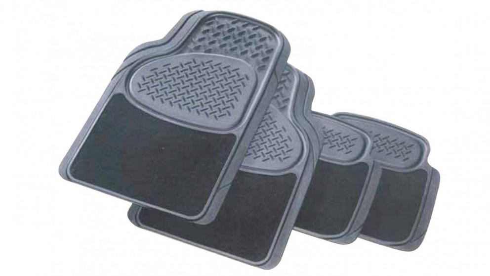 Carfit Primacy Carpet and Rubber Car Mat 4 Piece Set