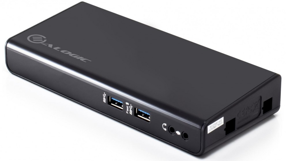 Alogic USB3.0 Universal Dual Display Docking Station