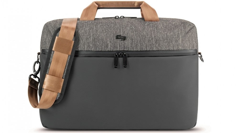 Solo Frequency Laptop Briefcase - Black