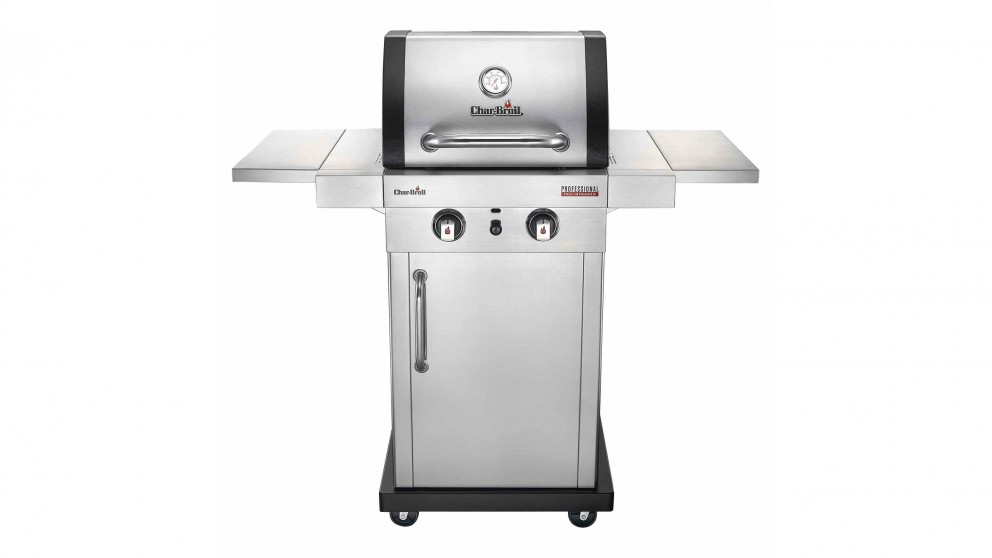 Char-Broil Professional 2-Burner Stainless Steel BBQ