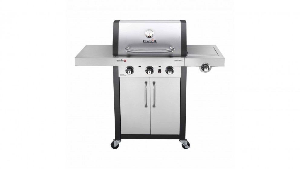 Char-Broil Professional 3-Burner Stainless Steel BBQ