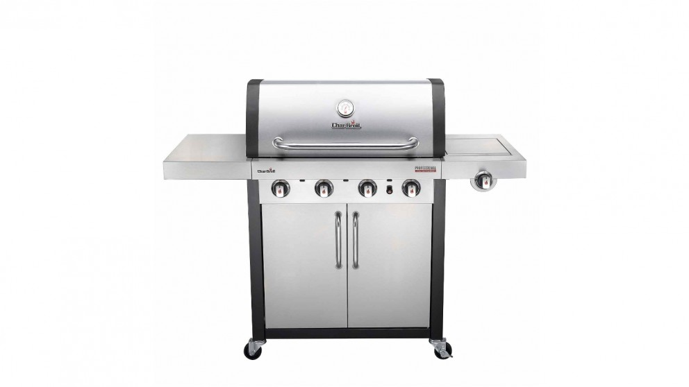 Char-Broil Professional 4-Burner Stainless Steel BBQ