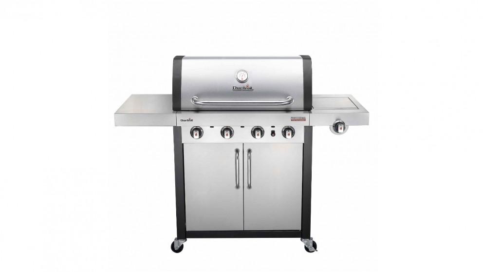 Buy Char-Broil Professional 4-Burner Stainless Steel BBQ | Harvey ...