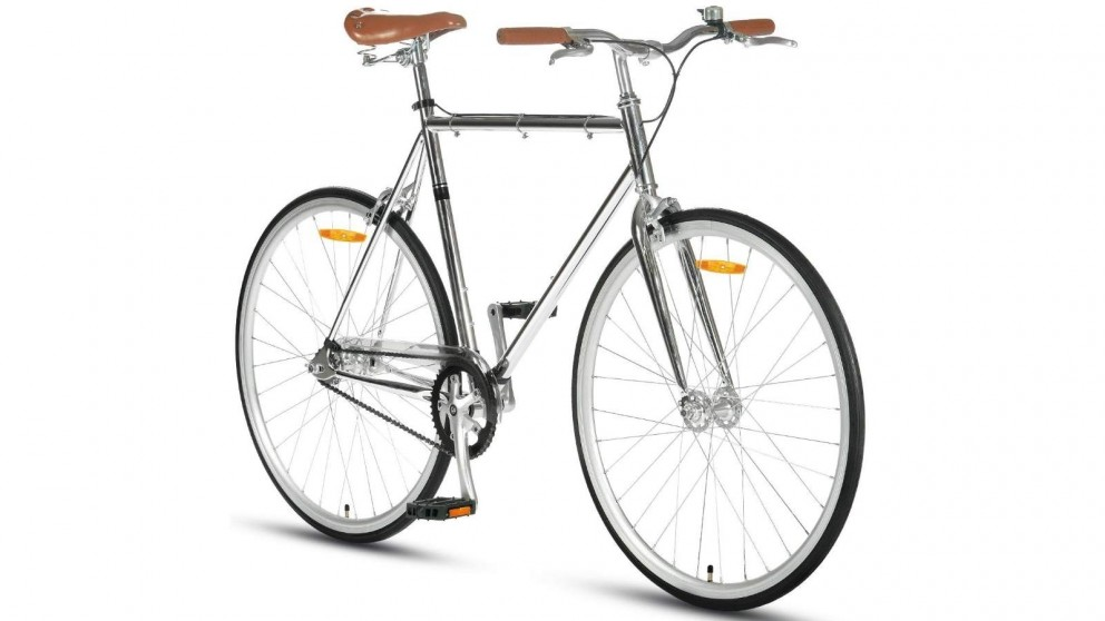 Progear Fixie 700c Bike - Chrome