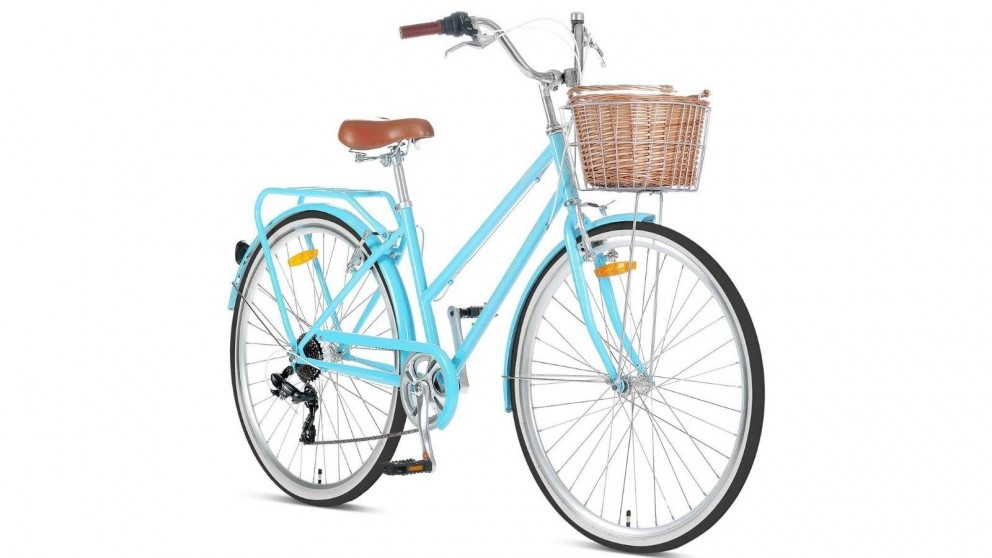 Progear Pomona Retro Ladies 700c Bike - Sky Blue
