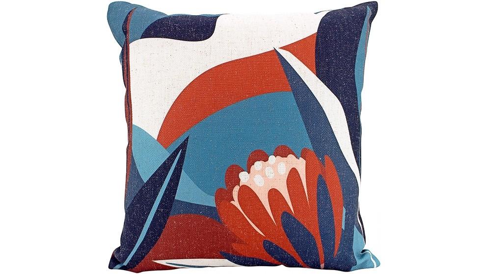 Protea Abstract Cushion