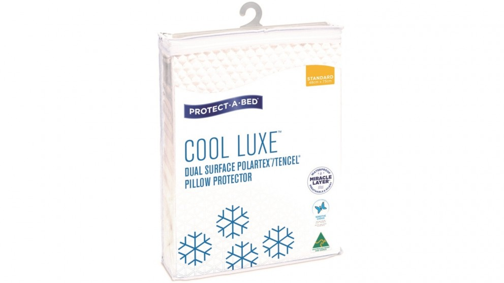 Protect-A-Bed Cool Luxe Twin Pack Waterproof Standard Pillow Protector