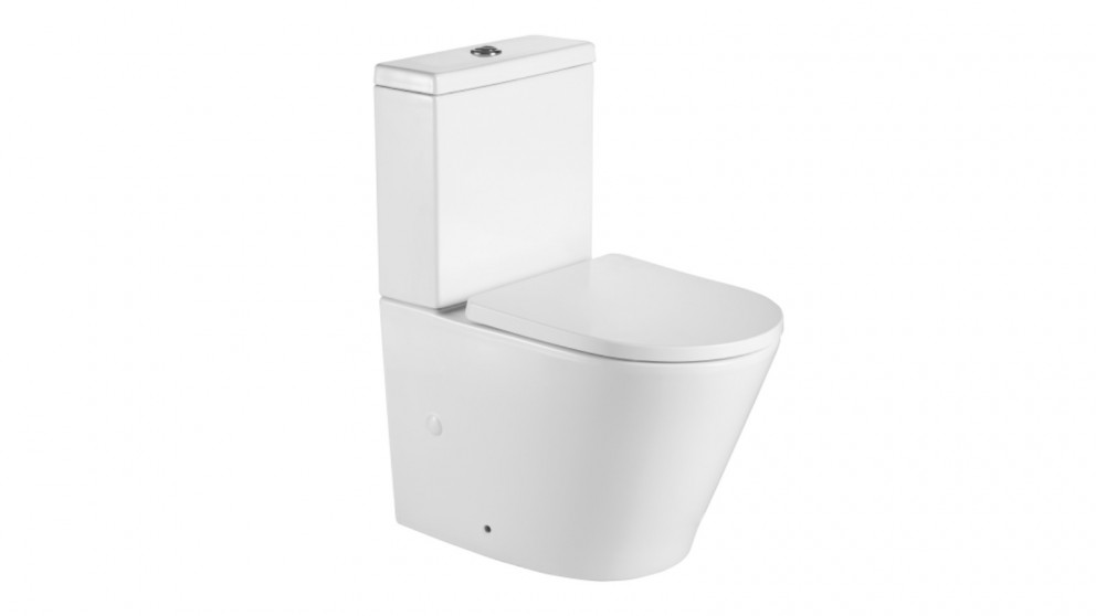Decina Prezzo Rimless Back To Wall Toilet Suite