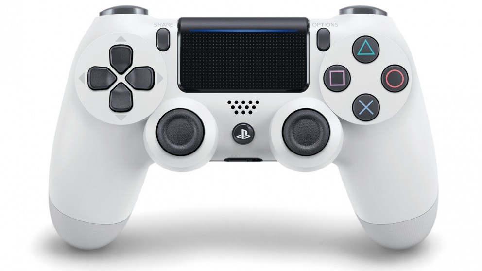 PS4 DualShock 4 Wireless Controller - White
