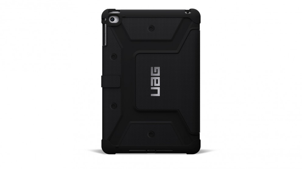 UAG iPad Mini 4 Military Standard Folio Case - Black
