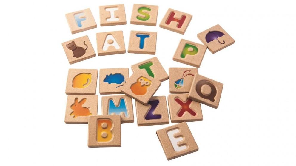 PlanToys A-Z Alphabet