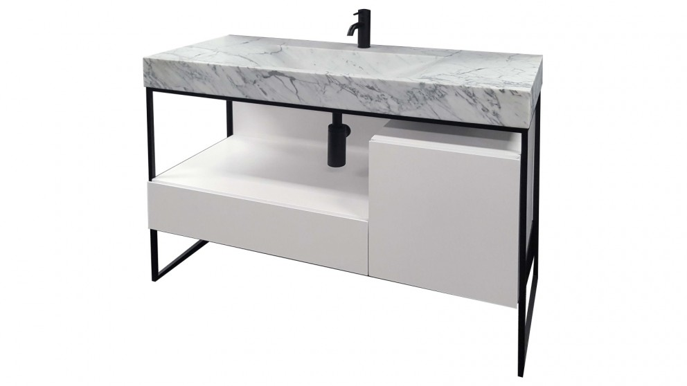 Parisi Pure Frame 1200 Marble Top and Floor Mounted Cabinet