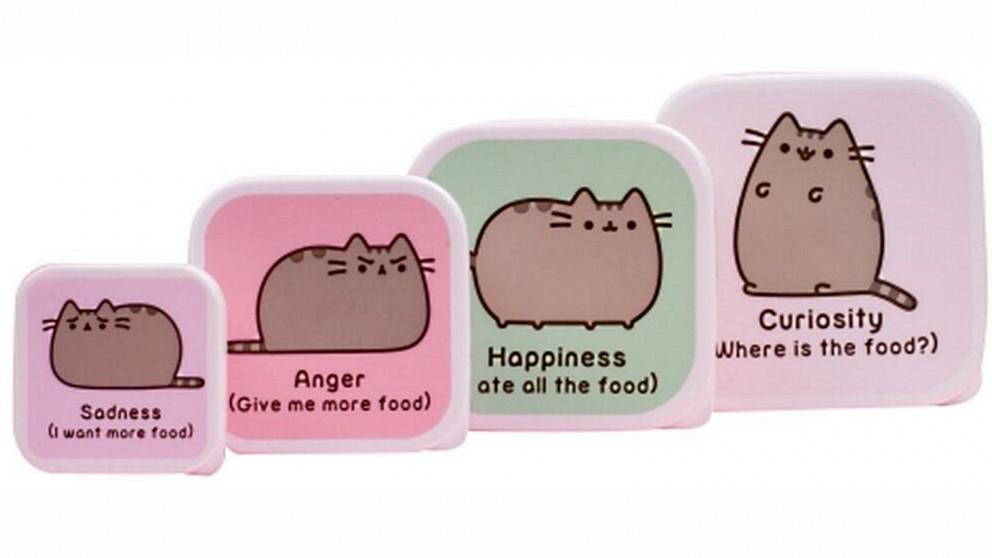 Pusheen Set of 4 Snack Box