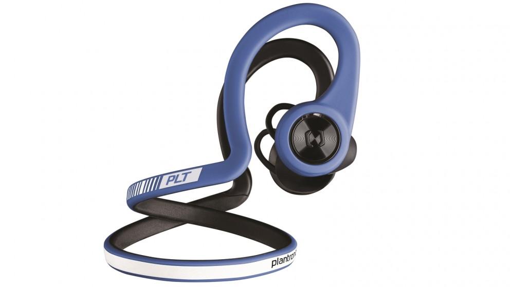 Plantronics BackBeat FIT Headphones - Power Blue