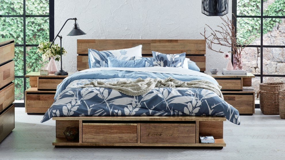 Buy Random Low Queen Bed Harvey Norman AU