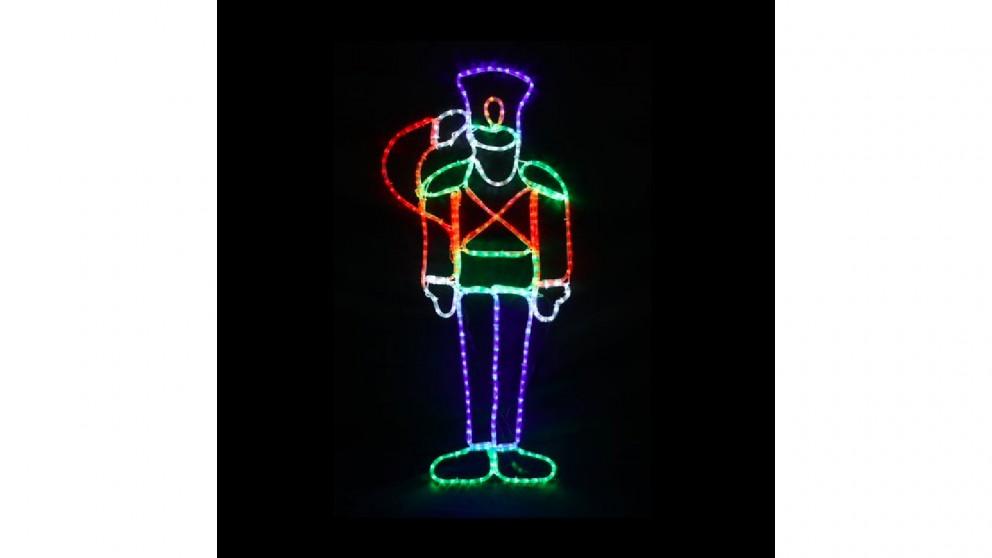 Lexi Lighting LED Saluting Soldier - 116cm