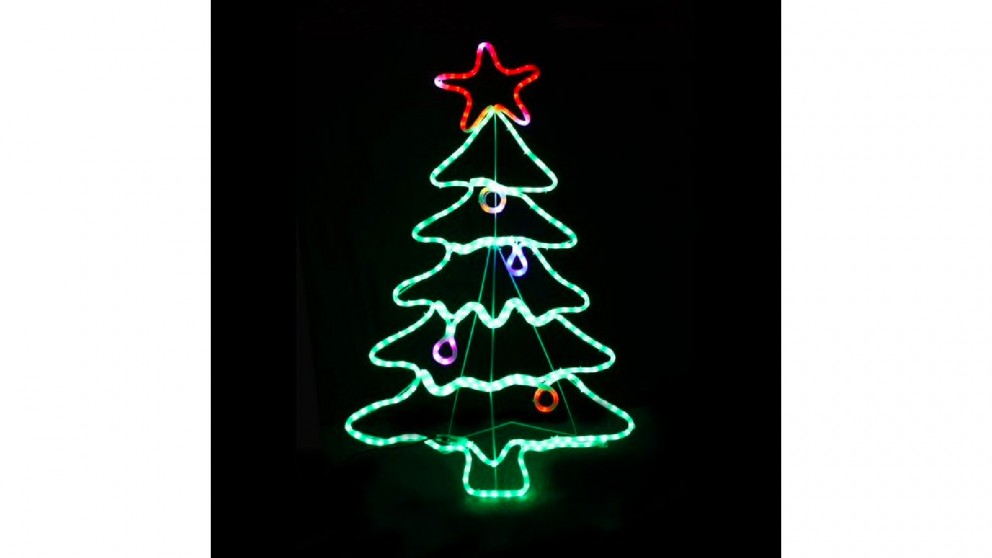 Lexi Lighting LED Christmas Tree - 114cm