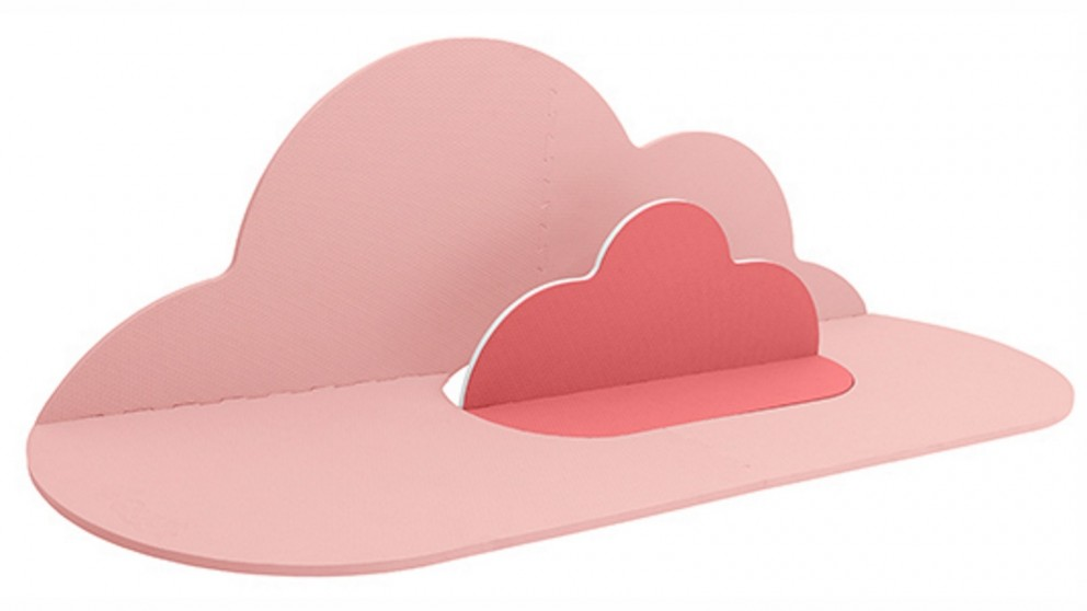 Quut Small Head in the Clouds Kids/Baby Playmat - Blush Rose