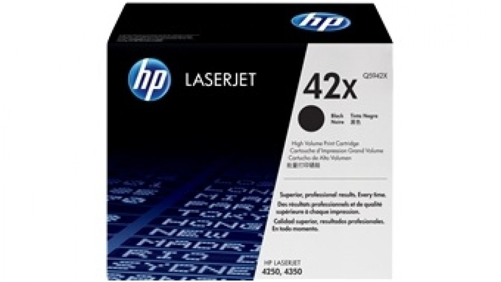 HP 4250/4350 Laser Jet Toner Cartridge - Black