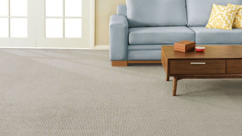 SmartStrand Forever Clean Natural Intuition Oyster Shell Carpet Flooring