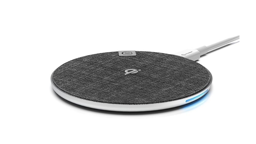 Alogic Alpha 10W Wireless Charging Pad - Chrome
