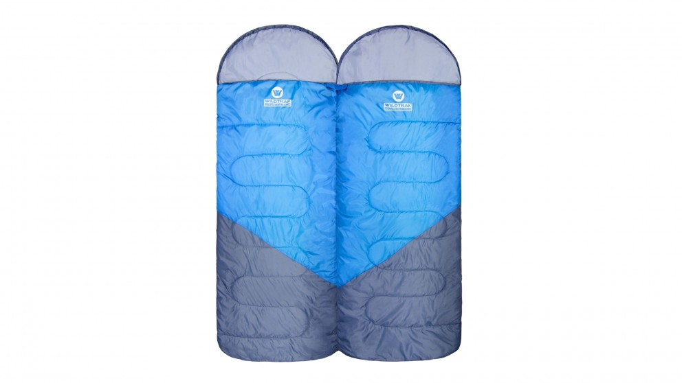 Wildtrak Gasgoyne Hooded Twin Sleeping Bags