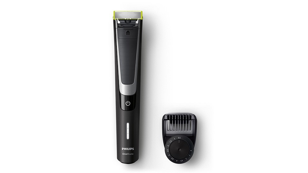 Philips OneBlade Pro with Adjustable Comb Trimmer