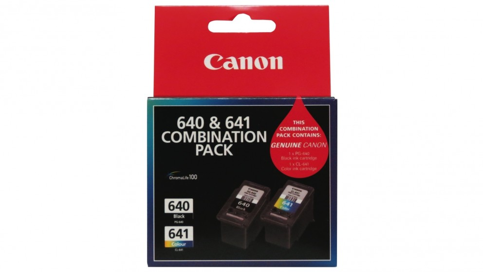 Canon Combination Pack Colour and Black Ink Cartridge