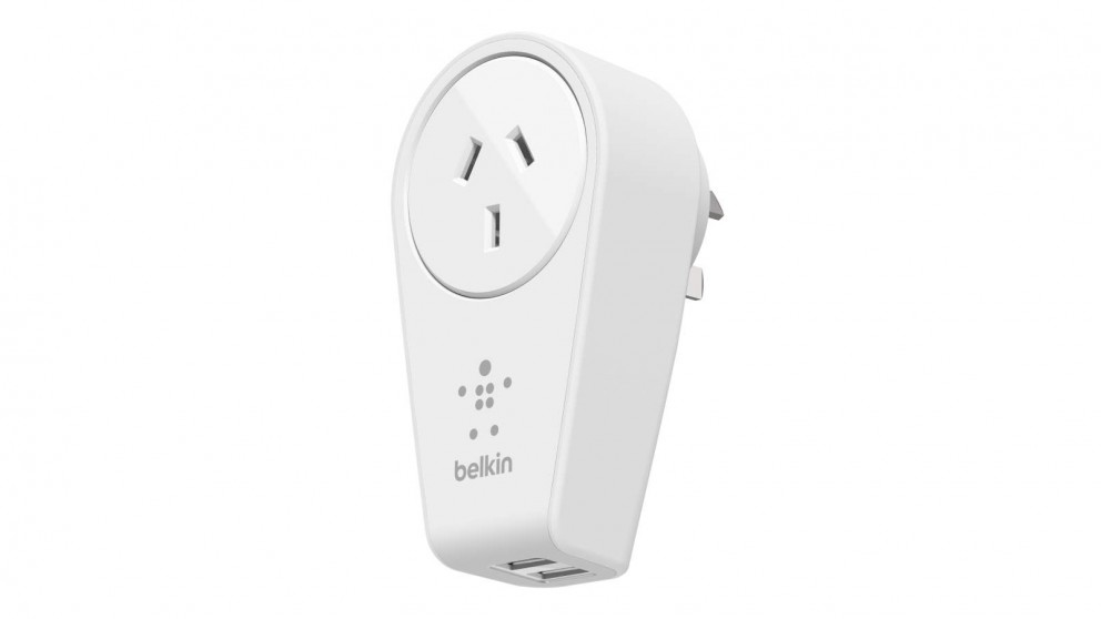 Buy Belkin Boost Up 2 Port Swivel Charger And Outlet