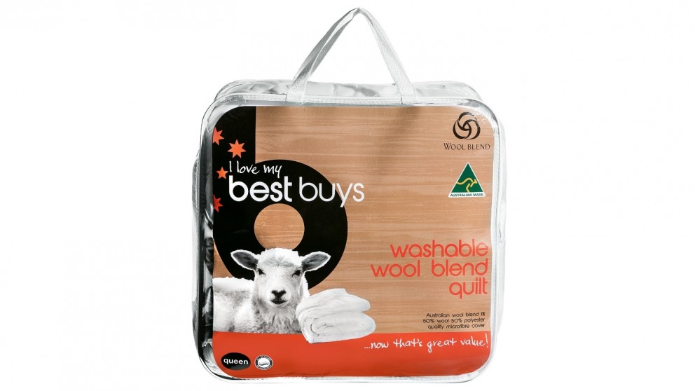 Best Buys Wool Blend King Quilt