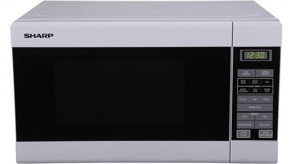 sharp convection microwave. sharp 750w microwave oven - white convection