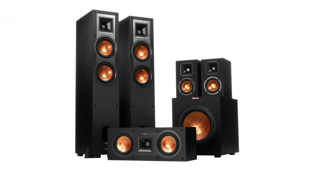 Klipsch R-24 Reference Series 5.1 Channel Speaker System