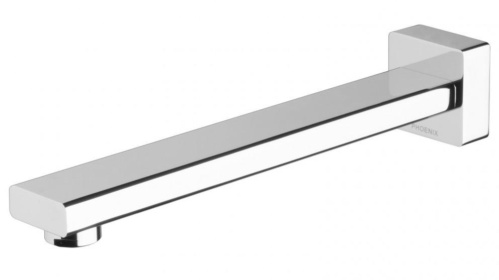 Phoenix Radii 230mm Wall Bath Outlet  - Chrome