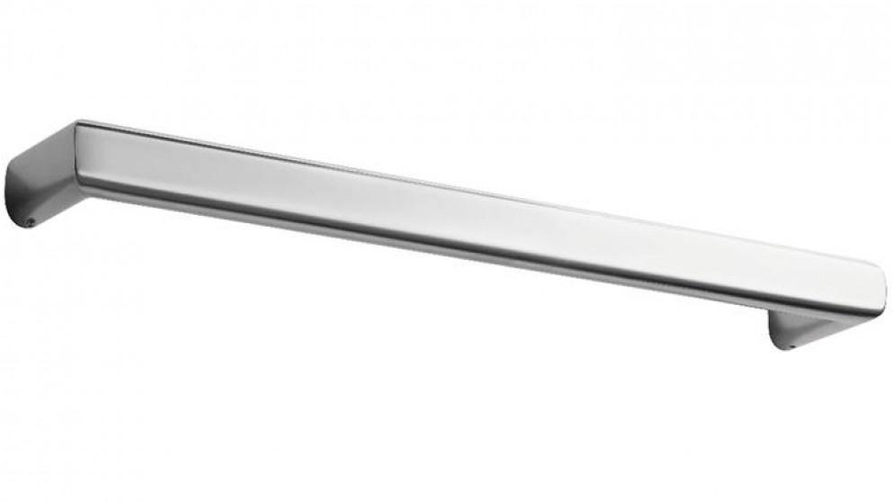 linsol siena 650 square single heated towel rail