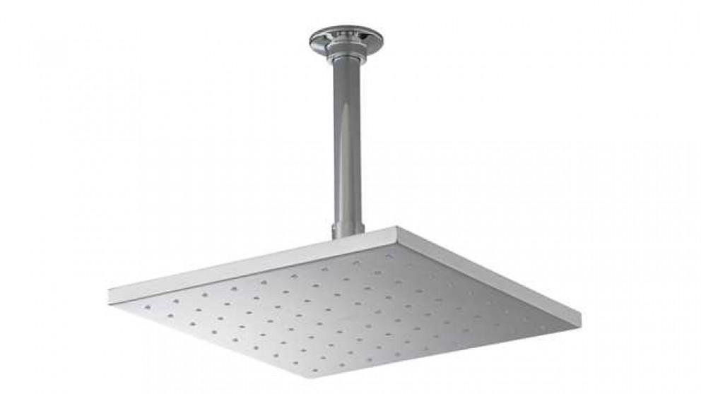 Kohler Raincan 250mm Square Shower Head - Shower Taps & Heads ...