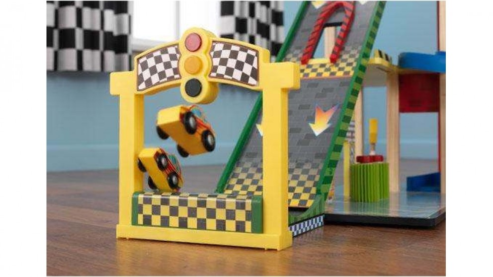 Kidkraft  DS Mega Ramp Racing Set