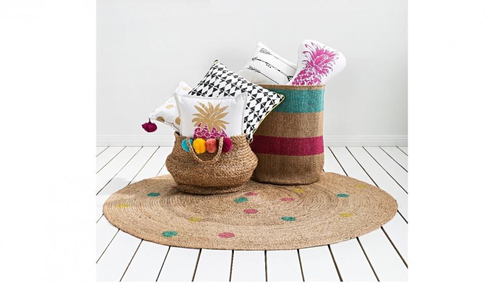 Eden Stripe Basket