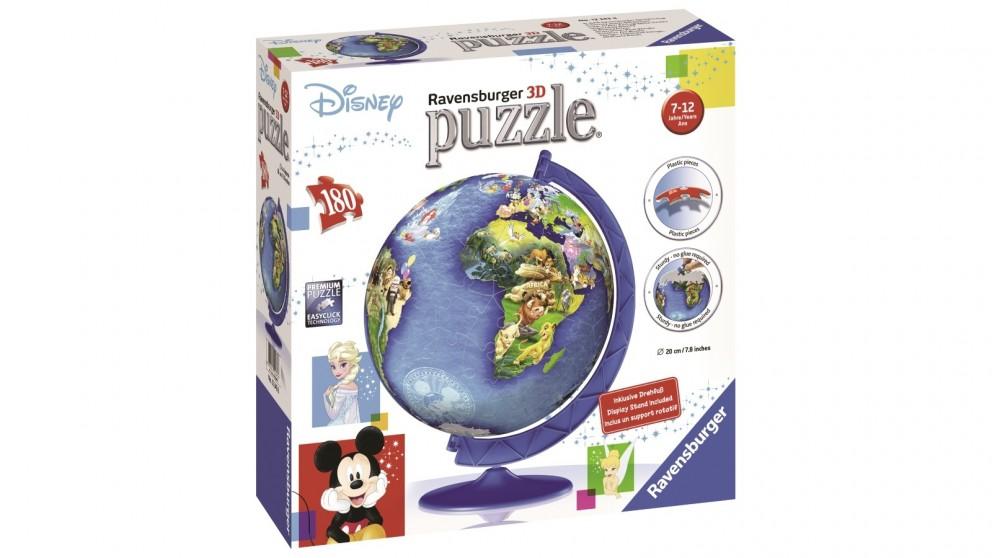 Ravensburger Disney's Globe Puzzleball 180 Piece Jigsaw Puzzle