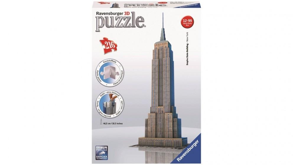 Ravensburger Empire State Building 3D 216 Piece Jigsaw Puzzle