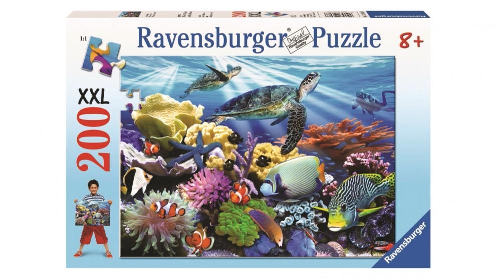 Ravensburger 200 Piece Ocean Turtles Jigsaw Puzzle