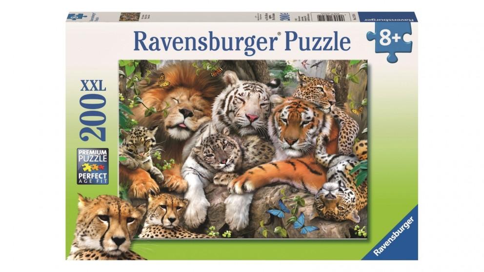Ravensburger 200 Piece Big Cat Nap Jigsaw Puzzle