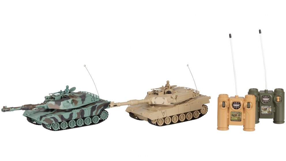 RC Land Twin Pack Battle Tank