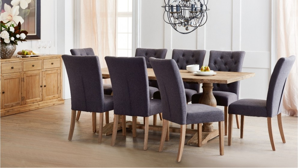 Reuben 9 Piece Dining SuiteReuben 9 Piece Dining Suite   Dining Room   Furniture  Outdoor  . Harveys Dining Room Table Chairs. Home Design Ideas