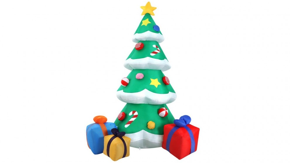 Jingle Jollys 3m Christmas Inflatable Tree
