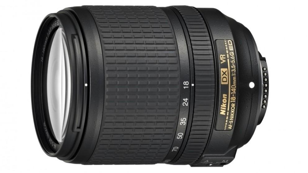 Nikon AF-S DX 18-140mm F3.5-5.6 G ED VR Camera Lens